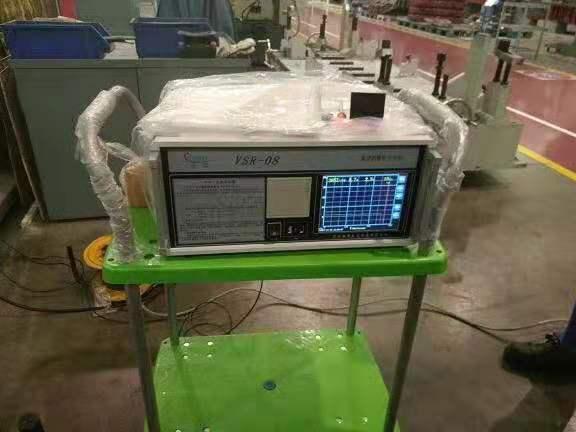 馳奧VSR-08三維消除應力系統于濰柴股份時效圖